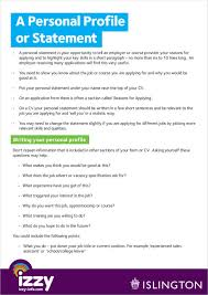 Cv Personal Profile Examples Free 11 Personal Profile Samples In Pdf Doc