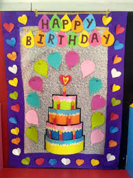Birthday Chart For Preschool Board Birthday Chart For