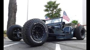 1945 willys jeep rat rod 2016 cruisin the coast youtube