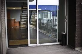commercial sliding entry doors