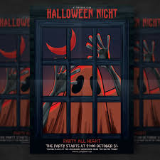 Costume Contest Flyer Template Halloween Party Flyer Template Psd File Free Download
