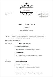 Functional Resume The Working Centre Functional Resume