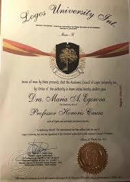 Новости Профессор кафедры конкурентного права Университета Мария Егорова стала почетным профессором Университета Логос США