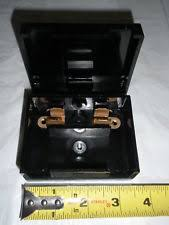 ge industrial fuse blocks nos vintage ge bakelite fuse box holder panel 19d413045 two way radio 30amp