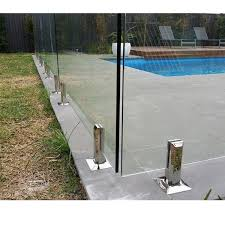 china frameless glass pool fence glass clamp sbm