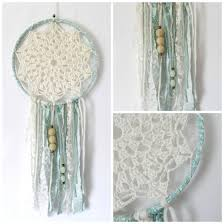 Macrame Dream Catcher Patterns Free DIY Crochet Dream Catcher The link for the Crocheted Center is in 64