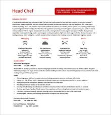Chef Resume Format Perfect Cook Resume Sample Pdf Reference Of