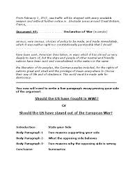 wwi essay wwi veteran interview essay trenches essay learning  wwi arguementative essay should the us have joined the war click