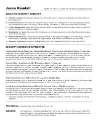 Resumes For Police Officers Officer Resume Objective Statement ...