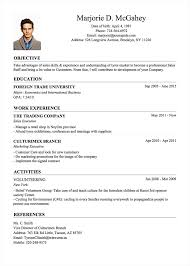 International Format Resume Professional Resume Cv Templates With Examples Topcv Me