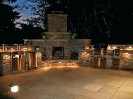 outdoor kitchen lighting beautiful and fireplace fixtures p47 kitchen