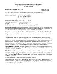 Sample Resume Entry Level Radiologic Technologist Best Resume For R