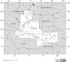 Pisces Constellation Star Chart Pisces Constellation Wikipedia