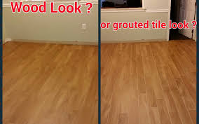 can wood look tile really look like wood the importance of grout color