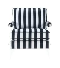 black and white accent chair floating black white striped velvet acrylic arm accent chair hometrends black