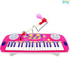 Đồ chơi đàn Organ mini kèm micro cho bé tập đàn tập hát Electronic Organ No.