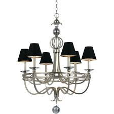 76 most prime black and white chandelier lamp shades shade uk small cirque light silver glint