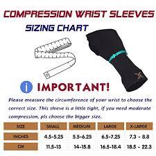 Thx4 Copper Wrist Support Medical Grade Compression Wrist