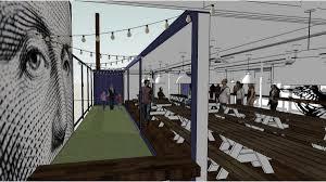 federalist restaurant beer garden to open by summer s end