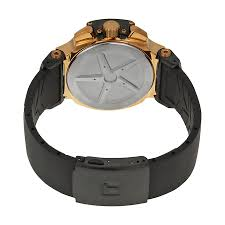 tissot t race chronograph rose gold tone black rubber mens watch item specifics