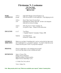 good resume examples download nice generic template best templates free  beautiful pdf