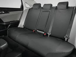 genuine oem 2017 2018 honda civic 5dr hatchback rear seat covers