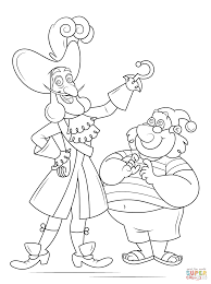Captain Hook And Mr Smee coloring page | Free Printable Coloring Pages