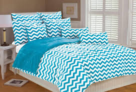 winsome turquoise comforter full with scandinavian bedroom design with turquoise white in chevron pattern bedding set