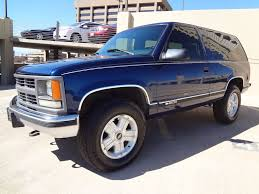 1997 Chevrolet 2 Door Tahoe 4x4 89k Miles For Sale - YouTube