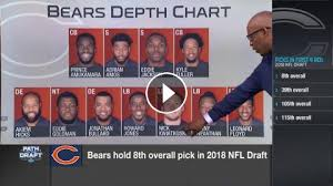 Chicago Bears Depth Chart 2018 Predicting The Chicago Bears First Three Draft Picks Of 2018