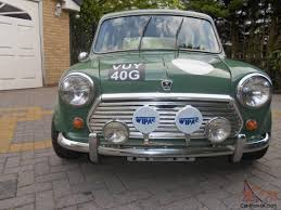 COOPER RALLY CAR 1968, NOT A TOY A SUPERB REAL RALLY CAR, WORKS ...