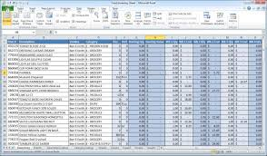 Inventory And Sales Manager Excel Template With How To Maintain