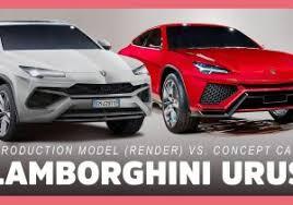 2018 lamborghini truck. delighful 2018 2018 lamborghini urus suv production model vs concept car  youtube in  cars on lamborghini truck