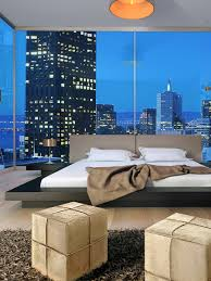 worth platform bed with matching nightstands by modloft at gilt