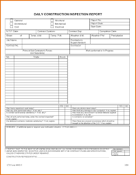Construction Project Progress Report Template Daily Status Daily
