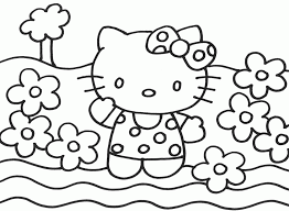 Small Picture Hello Kitty Coloring Pages Christmas Coloring Home