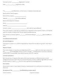 Catering Agreement Content Uploads Catering Free Catering Contract Template