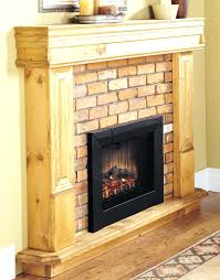 fake fireplace mantel diy for ideas