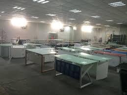 executive glass office desk. Modern Office Furniture Table Design/ Executive Desk/tempered Glass Computer Desk DC- M