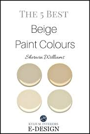Sherwin Williams The 5 Best Neutral Beige Paint Colours