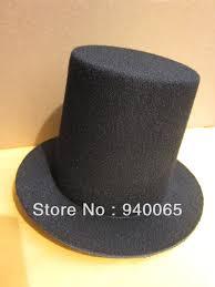 black eva mini top hat church diy making craft alligator clips fascinator base high 9cm party