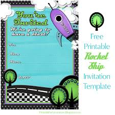 Boys Birthday Party Invitations Templates Cant Find Substitution For Tag Post Body Rocket Ship