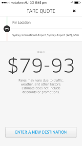 Uber Fare Quote Beauteous Uber Free 48 Taxi Chauffeur Limo Credit Sydney Melbourne Brisbane