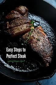 new york strip steak recipe pan fried