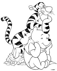 Disney Coloring Pages Winnie The Poo Free Printable Coloring