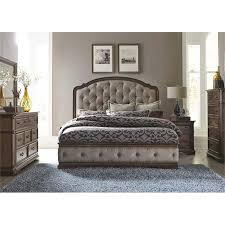 upholstered king bedroom sets. Liberty Furniture Amelia 5 Piece Upholstered King Bedroom Set Upholstered King Bedroom Sets B