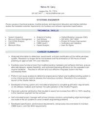 systems engineer sample resumes sample hardware engineer cover letter systems engineer resume