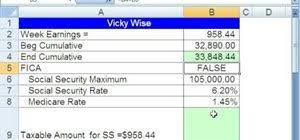 Payroll Calculator With Deductions How To Calculate Payroll Deductions Given A Hurdle In Excel