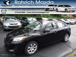 Black Mazda 3 2013 Mazda 3 Black 200 Interior And Exterior Images