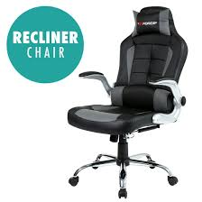 rce blaze reclining leather sports racing office desk